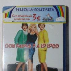 Cine: CON FALDAS Y A LO LOCO- BILLY WILDER- BLU-RAY- NUEVO. Lote 187628936