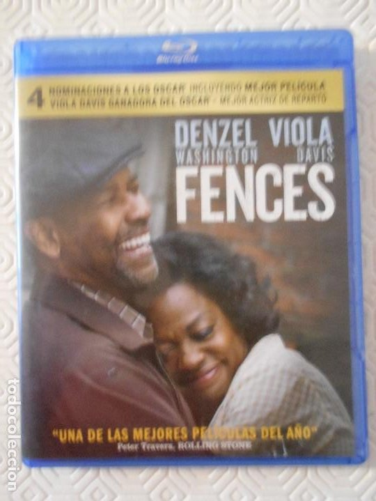 FENCES. BLURAY DE LA PELICULA DE DENZEL WASHINGTON Y VIOLA DAVIS. UNA DE LAS MEJORES PELICULAS DEL A (Cine - Películas - Blu-Ray Disc)