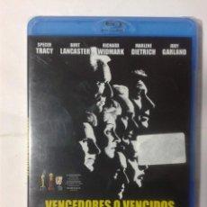 Cine: VENCEDORES O VENCIDOS- EL JUICIO DE NUREMBERG- BLU-RAY- NUEVO. Lote 188422820