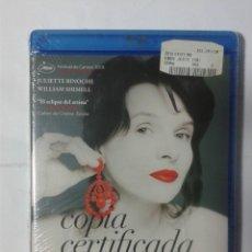 Cine: COPIA CERTIFICADA- ABBAS KIAROSTAMI- BLU-RAY- NUEVO. Lote 188424492