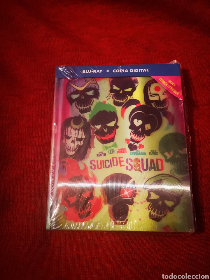LIQUIDACIÓN BLURAY SUICIDE SQUAD VERSIÓN EXTENDIDA BLU-RAY + DIGITAL DIGIBOOK WILL SMITH ESCUADRÓN (Cine - Películas - Blu-Ray Disc)