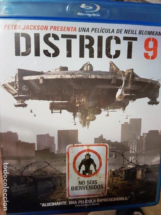 DISTRITO 9 (BLURAY) (Cine - Películas - Blu-Ray Disc)