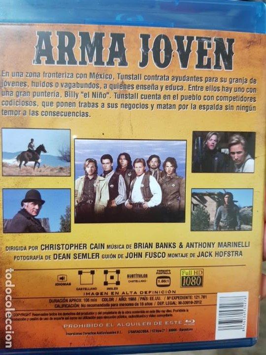 Cine: arma joven (bluray) - Foto 2 - 189226045