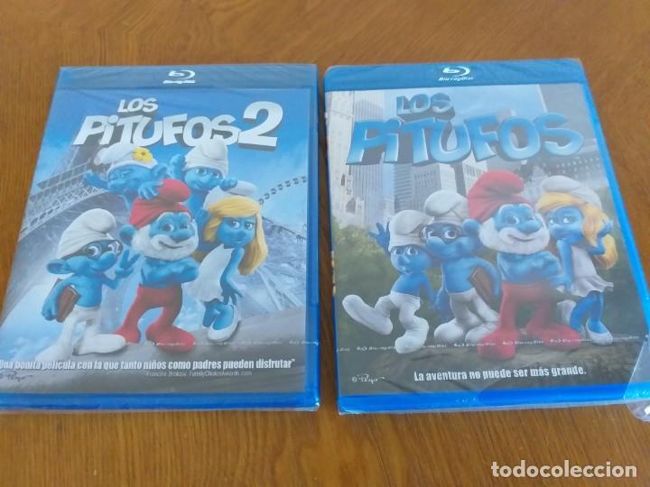 LOS PITUFOS 1 Y 2 - BD [BLU-RAY] - PRECINTADO (Cine - Películas - Blu-Ray Disc)