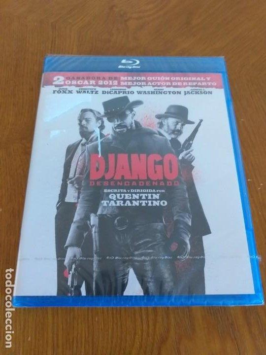 DJANGO DESENCADENADO - BD [BLU-RAY] - PRECINTADO (Cine - Películas - Blu-Ray Disc)