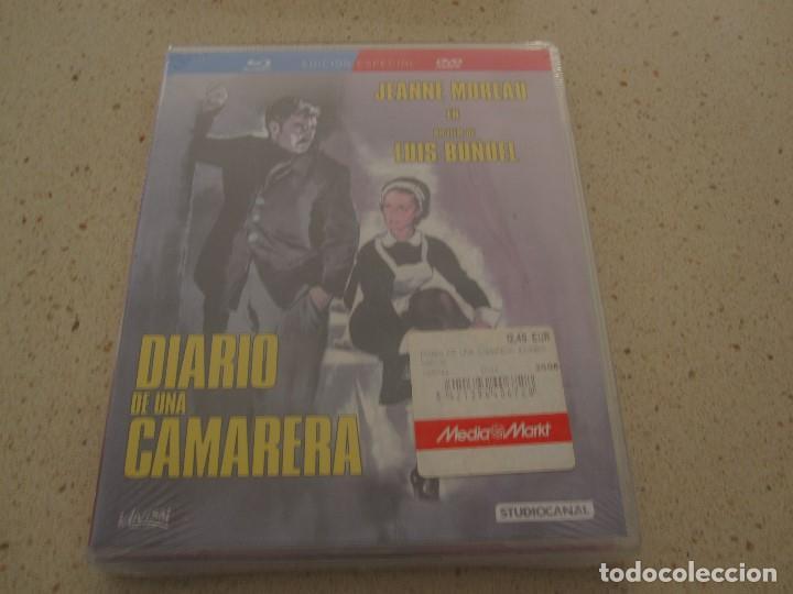 DIARIO DE UNA CAMARERA ED. ESPECIAL BLU RAY Y DVD NUEVO Y PLASTIFICADO (Cine - Películas - Blu-Ray Disc)