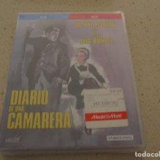 Cine: DIARIO DE UNA CAMARERA ED. ESPECIAL BLU RAY Y DVD NUEVO Y PLASTIFICADO. Lote 189503310