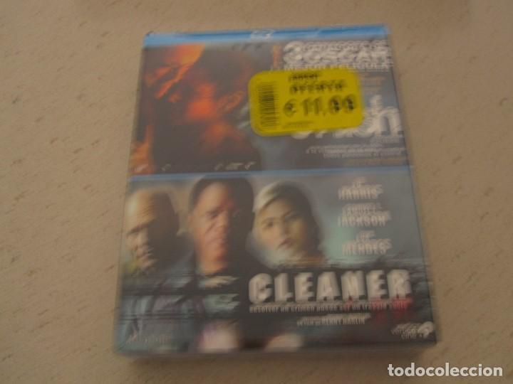 2 FILMS CRASH Y CLEANER BLU RAY EN PACK NUEVO Y PLASTIFICADO (Cine - Películas - Blu-Ray Disc)