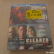 Cine: 2 FILMS CRASH Y CLEANER BLU RAY EN PACK NUEVO Y PLASTIFICADO. Lote 189504725