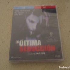 Cine: LA ULTIMA SEDUCCCION BLU RAY Y DVD EDICION ESPECIAL NUEVO PLASTIFICADO. Lote 189505303