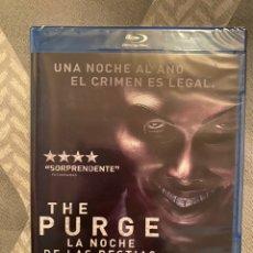 Cine: THE PURGE LA NOCHE DE LAS BESTIAS BLURAY PRECINTADO. Lote 190526090