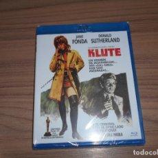 Cine: KLUTE BLU-RAY DISC JANE FONDA DONALD SUTHERLAND NUEVO PRECINTADO. Lote 278202438
