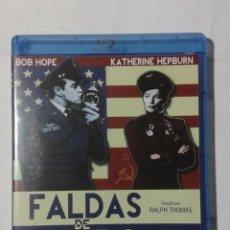 Cine: FALDAS DE ACERO- BOB HOPE- KATHERINE HEPBURN- BLU-RAY. Lote 191008712