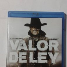 Cine: VALOR DE LEY- JOHN WAYNE BLU-RAY. Lote 191009920