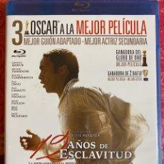 Cine: 12 AÑOS DE ESCLAVITUD BLURAY PRECINTADO. Lote 191053778