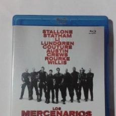 Cine: LOS MERCENARIOS- STALLONE- BLU-RAY. Lote 191731655