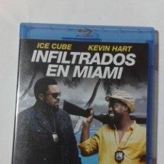 Cine: INFILTRADOS EN MIAMI- ICE CUBE- KEVIN HART- BLU-RAY. Lote 191732042