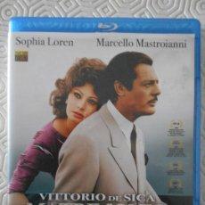 Cine: MATRIMONIO A LA ITALIANA. BLURAY DE LA PELICULA DE VITTORIO DE SICA. CON SOPHIA LOREN Y MARCELLO MAS. Lote 191762817