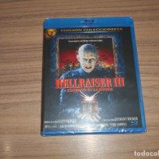 Cine: HELLRAISER III INFIERNO EN LA TIERRA EDICION COLECCIONISTA BLU-RAY DISC TERROR NUEVO PRECINTADO. Lote 278202728