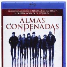 Cine: ALMAS CONDENADAS - DIRIGIDO POR WES CRAVEN, BLURAY DESCATALOGADO Y USADO UNA SOLA VEZ . Lote 191831537