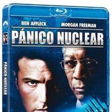 Cine: PANICO NUCLEAR - BLURAY PRECINTADO UNICO EN TC CON BEN AFFLECK Y MORGAN FREEMAN. Lote 191832372