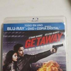 Cine: GETAWAY BLU-RAY+ DVD+COPIA+ DIGITAL ESTADO MUY BUENO MAS ARTICULOS . Lote 192597330