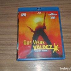 Cine: QUE VIENE VALDEZ BLU-RAY DISC BURT LANCASTER NUEVO PRECINTADO. Lote 206338233