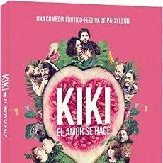 Cine: KIKI - EL AMOR SE HACE - CARATULA PROTEGIDA CON FAJÍN . Lote 192782243