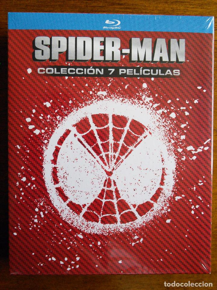 SPIDER-MAN [SPIDERMAN] // 7 PELÍCULAS [BLU-RAY BLURAY] // STAN LEE // MARVEL // CINE // SUPERHÉROES (Cine - Películas - Blu-Ray Disc)