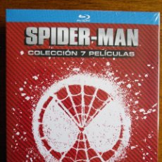 Cine: SPIDER-MAN [SPIDERMAN] // 7 PELÍCULAS [BLU-RAY BLURAY] // STAN LEE // MARVEL // CINE // SUPERHÉROES. Lote 193081495