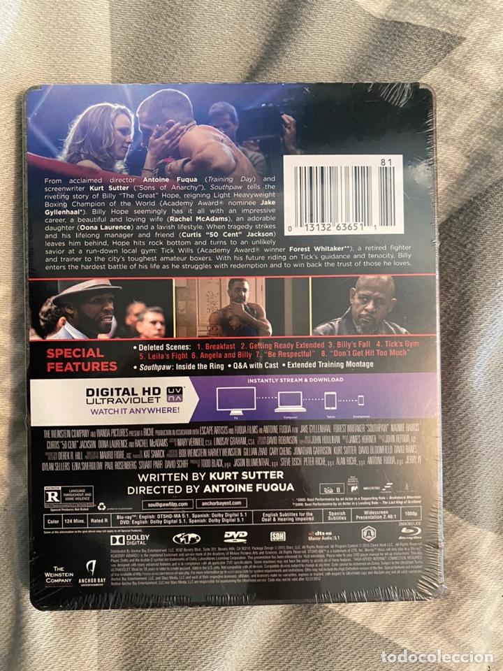 Cine: Southpaw Steelbook bluray+dvd+digital hd audio en español bluray precintado - Foto 2 - 193991183