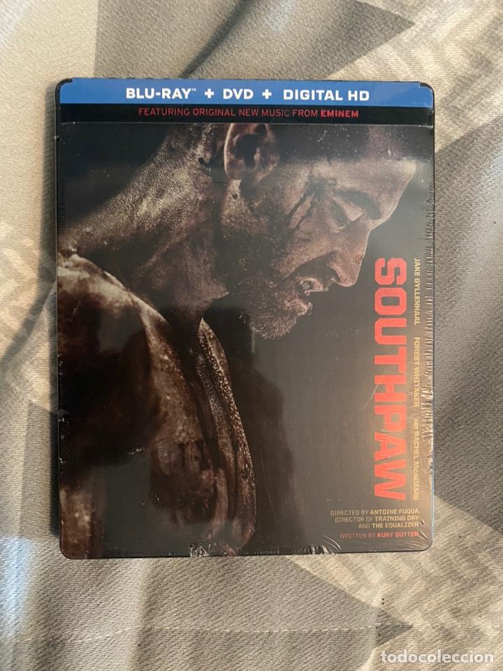 SOUTHPAW STEELBOOK BLURAY+DVD+DIGITAL HD AUDIO EN ESPAÑOL BLURAY PRECINTADO (Cine - Películas - Blu-Ray Disc)