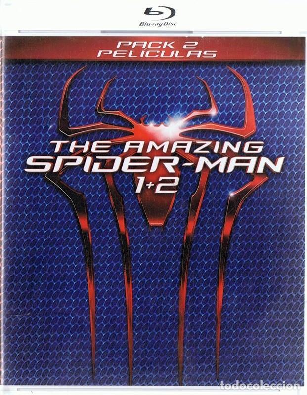 THE AMAZING SPIDER - MAN 1 + 2 ( 2 BLU - RAY) (Cine - Películas - Blu-Ray Disc)