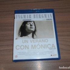 Cine: UN VERANO CON MONICA BLU-RAY DISC DE INGMAR BERGMAN NUEVO PRECINTADO. Lote 221874257
