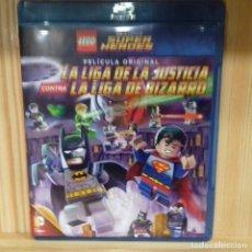 Cine: LA LIGA DE LA JUSTICIA CONTRA LA LIGA DE BIZARRO LEGO. Lote 194525908