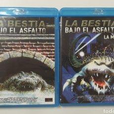 Cine: LA BESTIA BAJO EL ASFALTO 1 Y 2. BLURAY. Lote 195183678