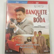 Cine: BANQUETE DE BODA (BLU-RAY + DVD). Lote 195184515