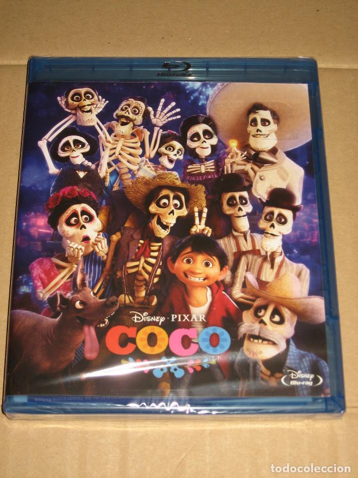 (SIN ABRIR) COCO ___ (BLU-RAY EDICIÓN ESPAÑOLA) ___________ DISNEY - PIXAR (Cine - Películas - Blu-Ray Disc)