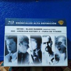Cine: LOTE BLU-RAY DISC ESENCIALES ALTA DEFINICIÓN ( CAJA 5 PELÍCULAS ). Lote 195781885