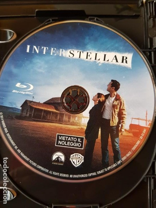 INTERSTELLAR (BLURAY) (Cine - Películas - Blu-Ray Disc)