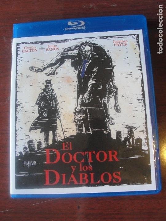 BLU RAY TERROR - EL DOCTOR Y LOS DIABLOS - TIPO HAMMER - DALTON SANDS PRYCE (Cine - Películas - Blu-Ray Disc)