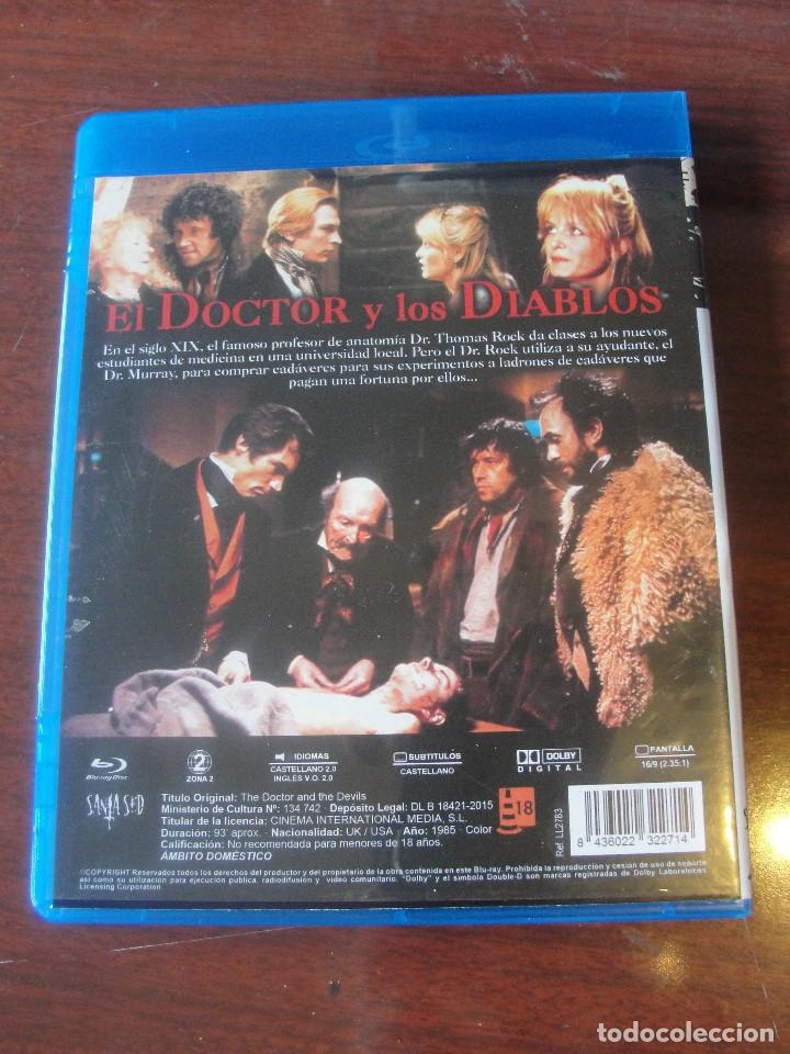 Cine: BLU RAY TERROR - EL DOCTOR Y LOS DIABLOS - TIPO HAMMER - DALTON SANDS PRYCE - Foto 2 - 196361753