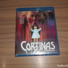 Cine: CORTINAS TERROR BLU-RAY DISC NUEVO PRECINTADO. Lote 288462093
