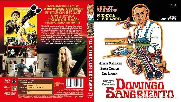DOMINGO SANGRIENTO - JOHN TRENT (Cine - Películas - Blu-Ray Disc)