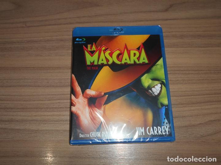 LA MASCARA BLU-RAY DISC JIM CARREY NUEVO PRECINTADO (Cine - Películas - Blu-Ray Disc)