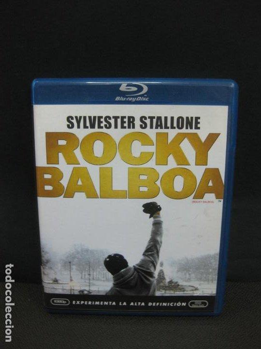 ROCKY BALBOA. SILVESTER STALLONE. BLU-RAY DISC. CON CONTENIDOS ADICIONALES. (Cine - Películas - Blu-Ray Disc)