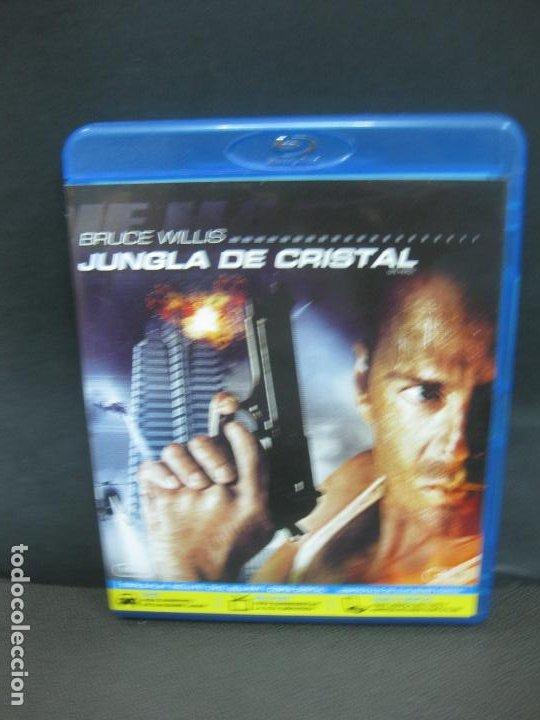 JUNGLA DE CRISTAL. BRUCE WILLIS. BLU-RAY DISC + DVD + COPIA DIGITAL CON CONTENIDOS ADICIONALES. (Cine - Películas - Blu-Ray Disc)