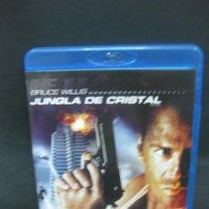 Cine: JUNGLA DE CRISTAL. BRUCE WILLIS. BLU-RAY DISC + DVD + COPIA DIGITAL CON CONTENIDOS ADICIONALES.. Lote 196758220