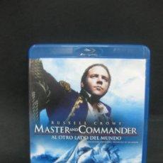 Cine: MASTER AND COMMANDER. BLU-RAY DISC + DVD + COPIA DIGITAL CON CONTENIDOS ADICIONALES.. Lote 196758312
