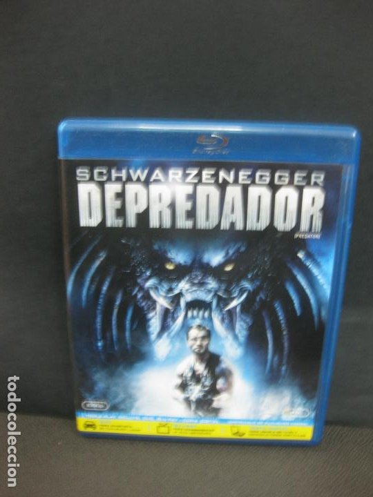 DEPREDADOR. SCHWARZENEGGER. BLU-RAY DISC + DVD + COPIA DIGITAL CON CONTENIDOS ADICIONALES. (Cine - Películas - Blu-Ray Disc)